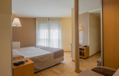 Habitación doble Hotel La Polar