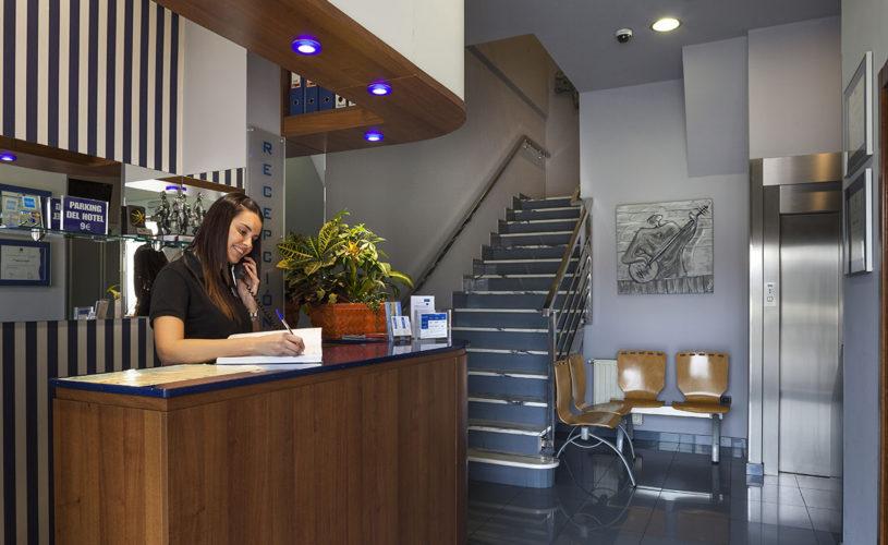 Recepción Hotel La Polar